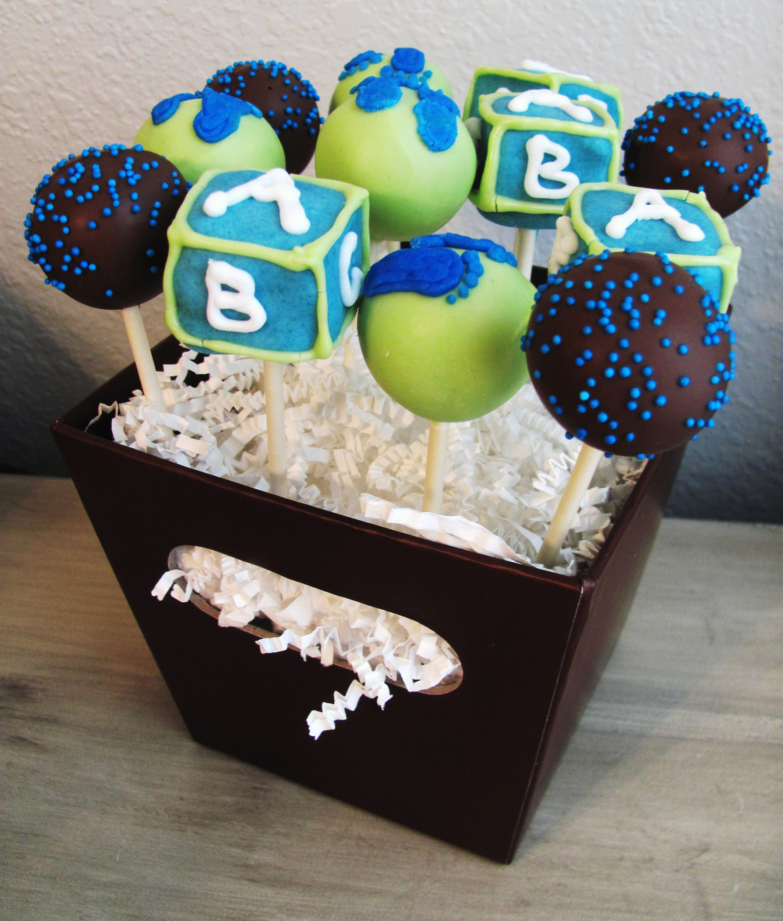 Cake Pop Designs For Baby Shower : Baby Shower Cake Pops Pinterest Party Invitations Ideas