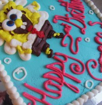 Sponge Bob Birthday Cake