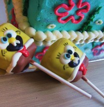 Sponge Bob Cake Pops