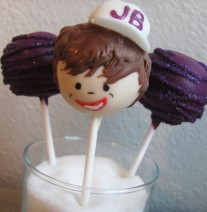 Justin Bieber Cake Pops