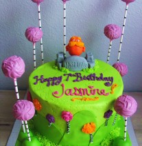 The Lorax Cake & Truffela Tree Cake Pops