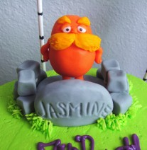 The Lorax on Unless Rock on Cake