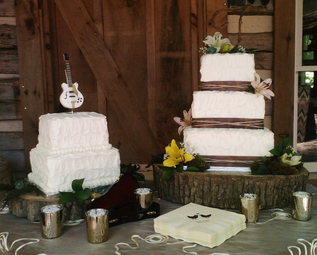 Rustic Wedding Cakes Nashville