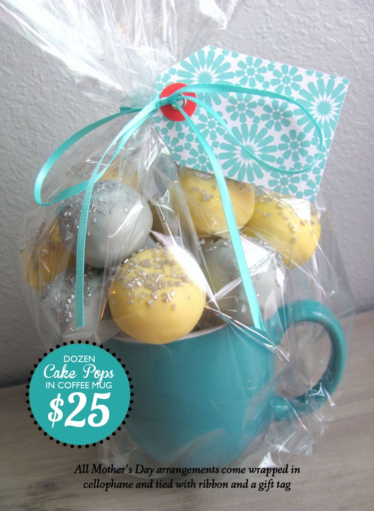 Edible Mother's Day Gifts Nashville Cake Pops
