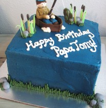 Fishing Birthday Cake Nashville