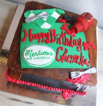 True Blood Birthday Cake Nashville