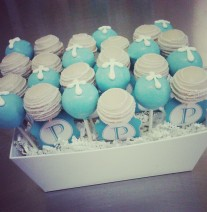 First Communion Cake Pops Nashville - Christening, Baptism