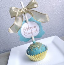Cake Pop Favors Place Cards Order Online