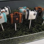 Suitcase Luggage Cake Pops