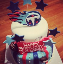 Titans Birthday Cake