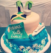 Make A Wish Cruise Cake
