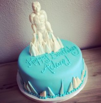 Iceman XMen Cake