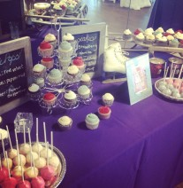 Winter Cupcakes and Cake Pops