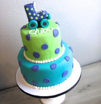 Roller Skate Birthday Cake