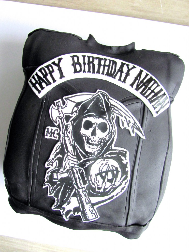 Sons of Anarchy Birthday Cake