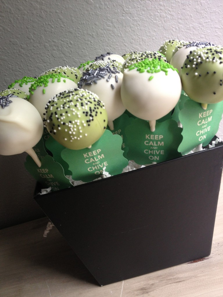 The Chive Cake Pops