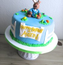 Peter Rabbit Easter Cake