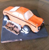 Car Groom's Cake