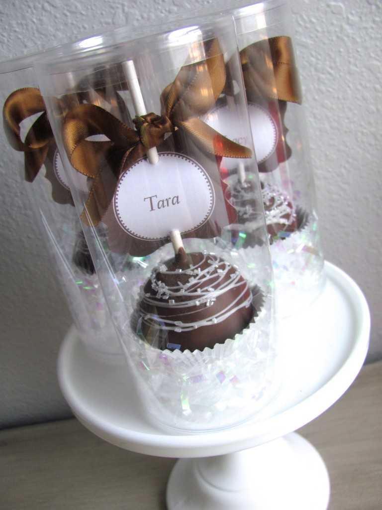 Cake Pop Favors