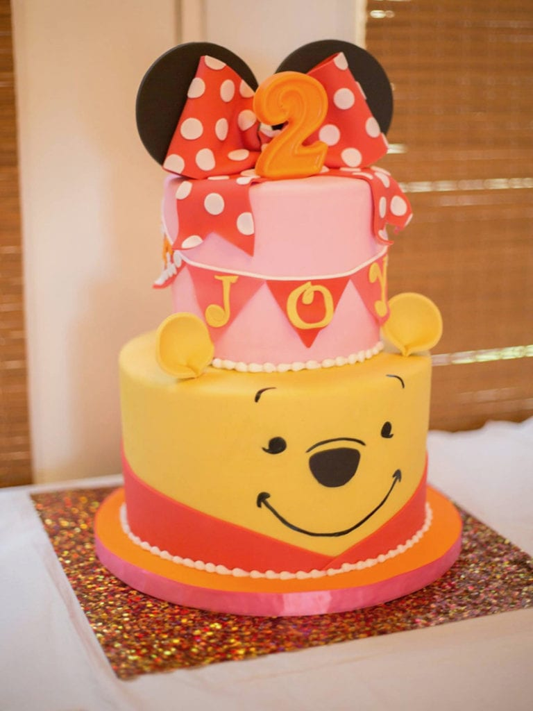 Nashville Sweets Minnie Mouse Winnie The Pooh Birthday Cake