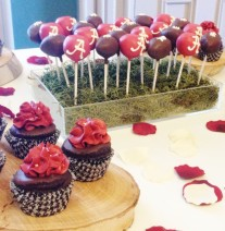 Alabama Cake Pops and Cupcakes