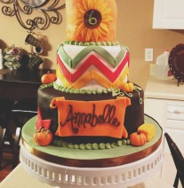 Fall Festival Birthday Cake
