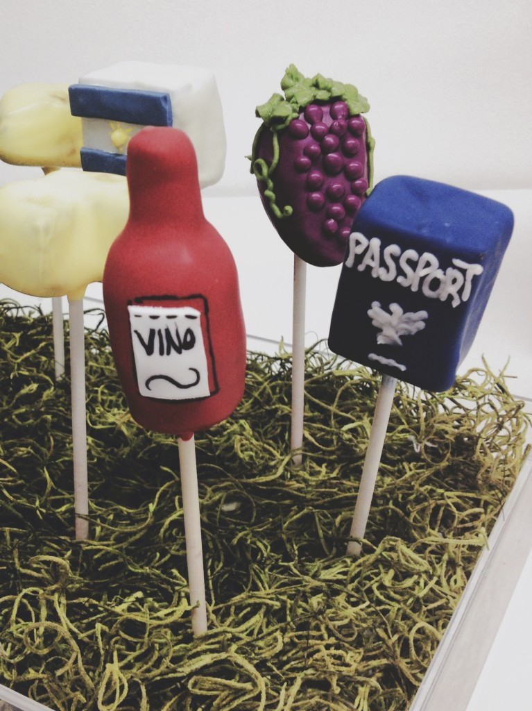 Wine and Travel Cake Pops