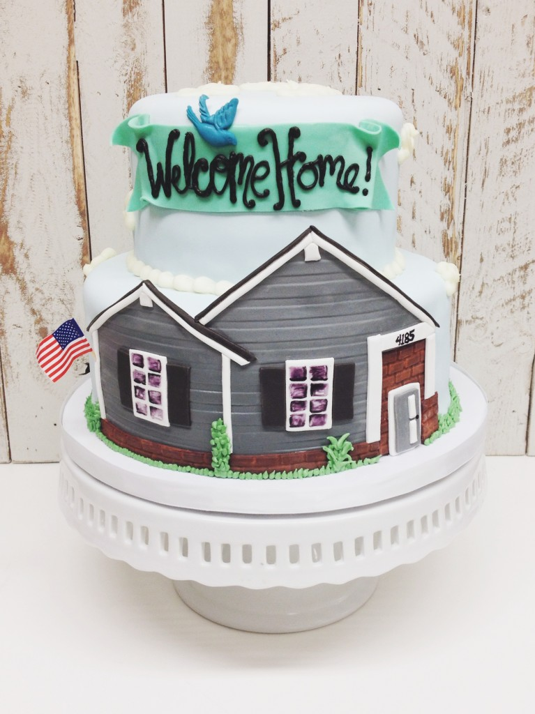 Welcome Home Cake