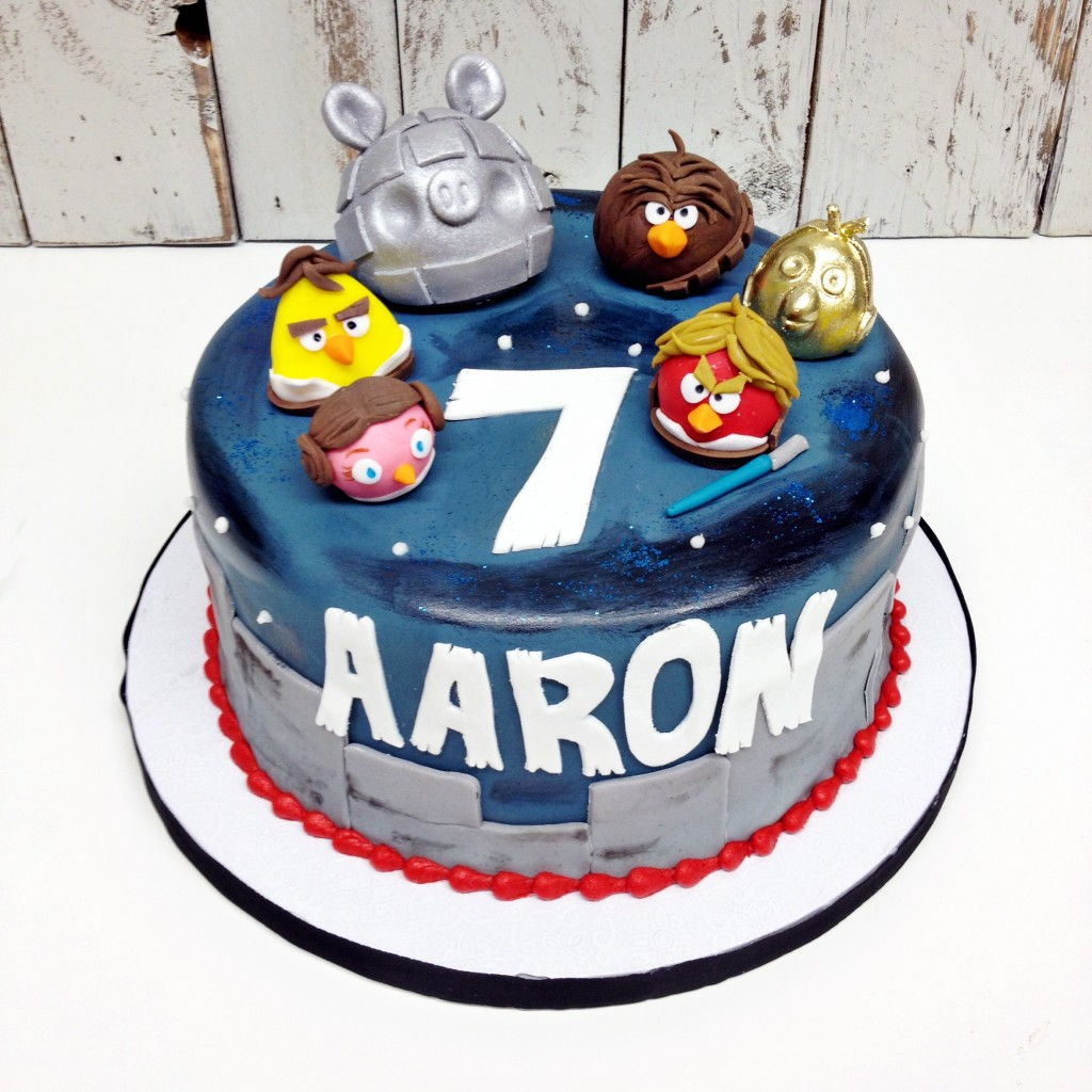 Star Wars Angry Birds Cake