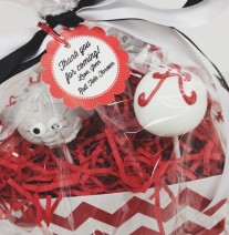 Alabama and Elephant Cake Pops