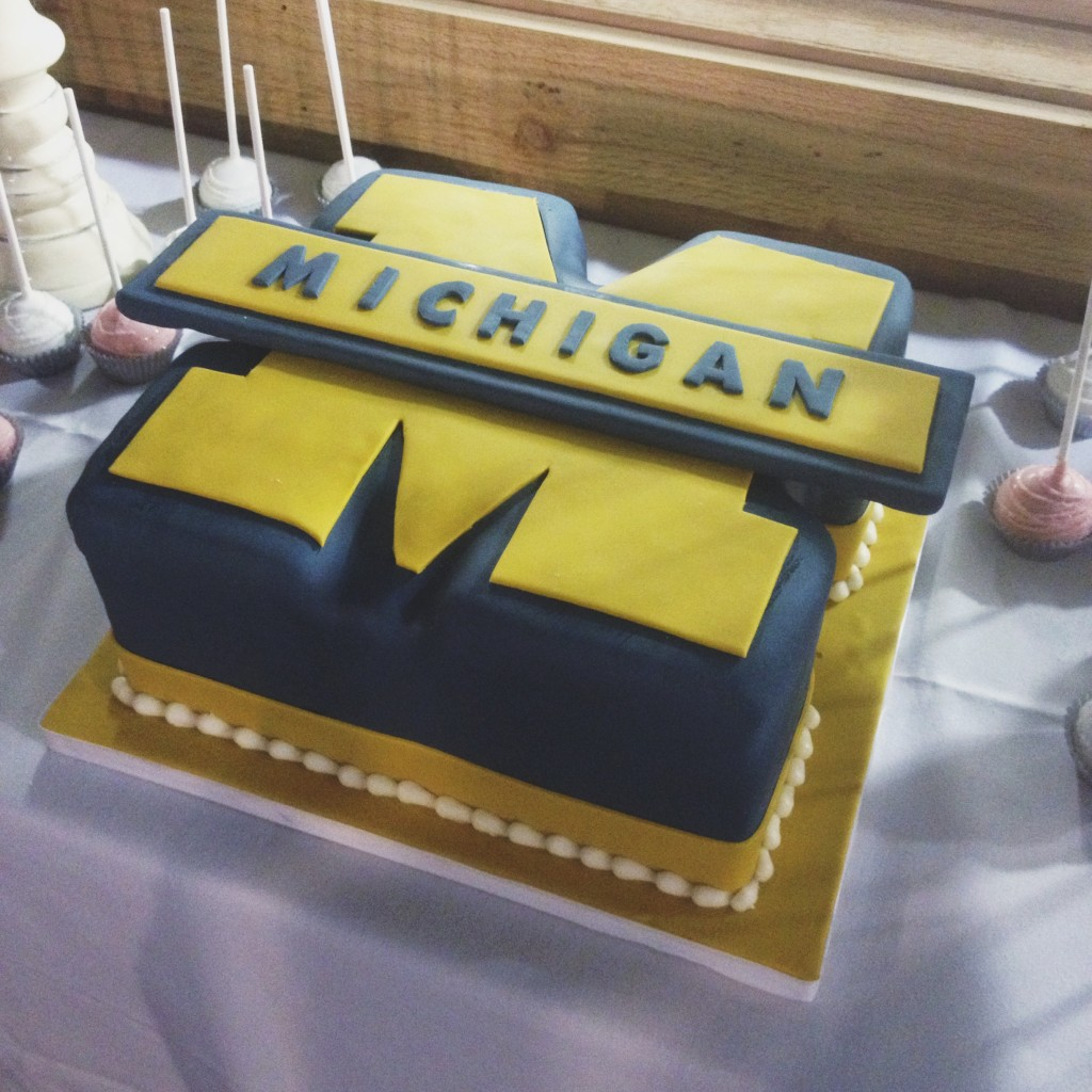 Michigan Groom's Cake