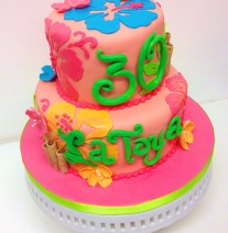 Bright Hawaiian Cake