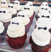 Big Hero 6 Baymax Cupcakes