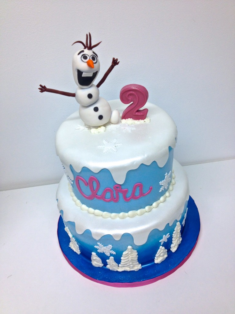 Olaf Frozen Birthday Cake