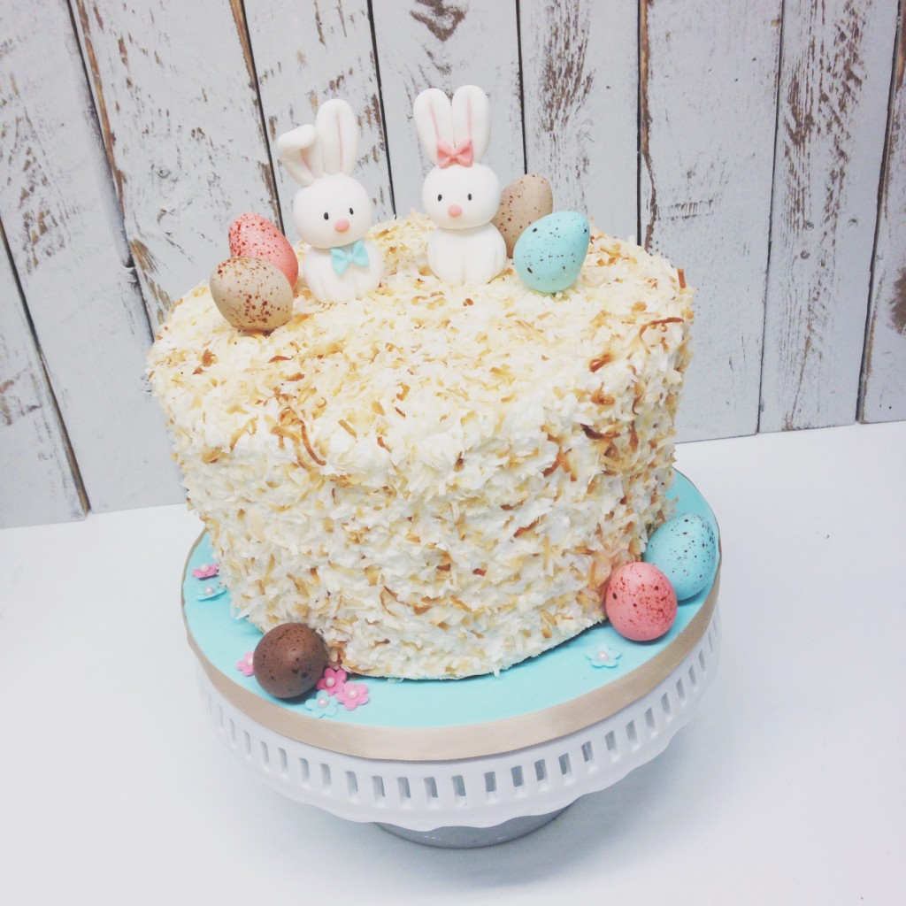Coconut Easter Cake