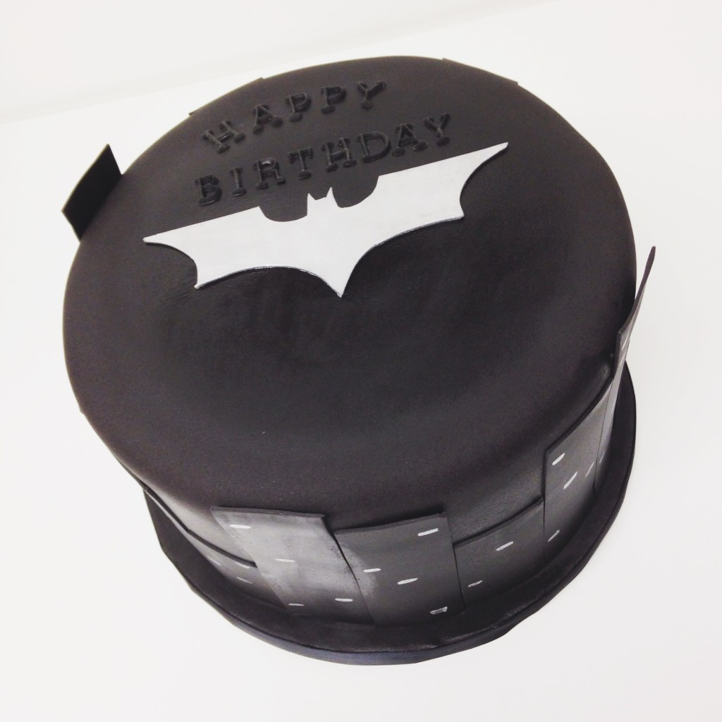 Batman Dark Knight Birthday Cake
