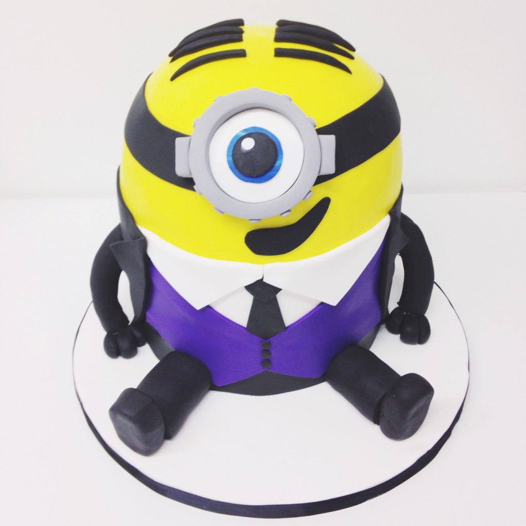Minion in a Tux Groom's Cake