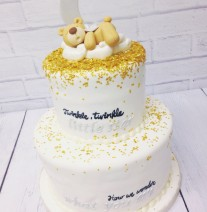 Twinkle Little Star Shower Cake