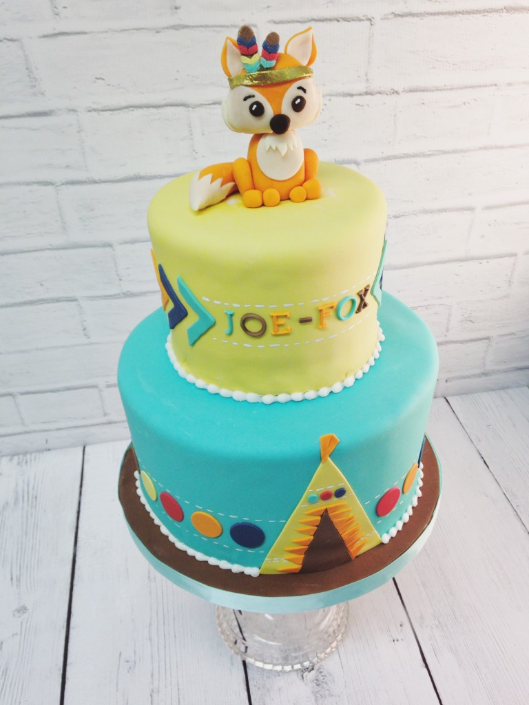 Bonaroo Fox Birthday Cake