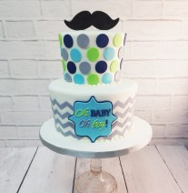 Little Man Shower Cake