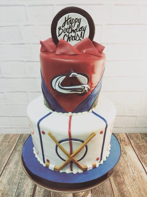 Avalanche Birthday Cake
