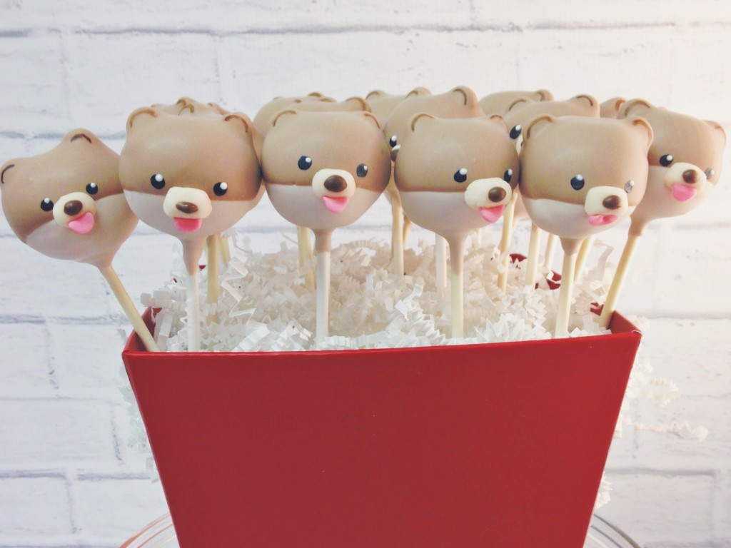 Boo the Dog Cake Pops
