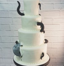 X Files Wedding Cake