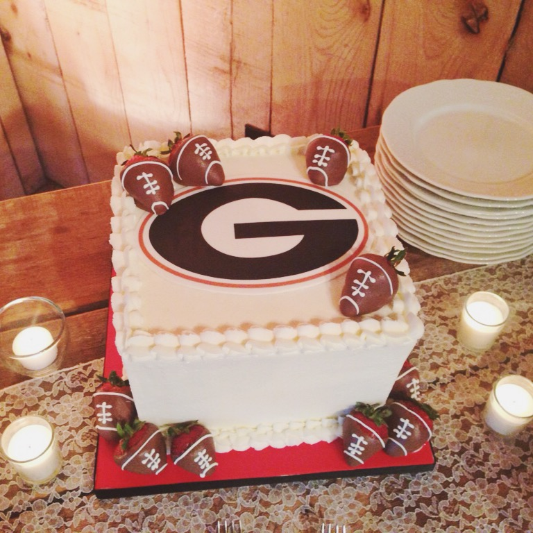 Georgia Groom's Cake