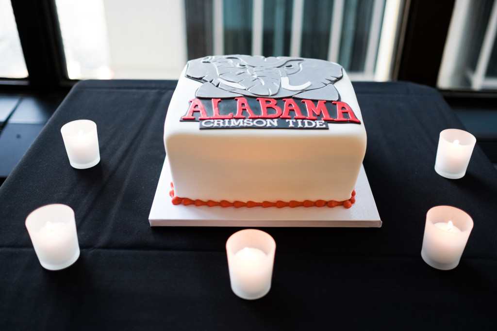 Alabama Groom's Cake