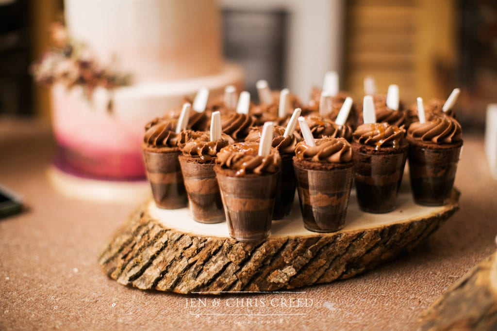 Nashville Sweets Chocolate Salted Caramel Cake Shots