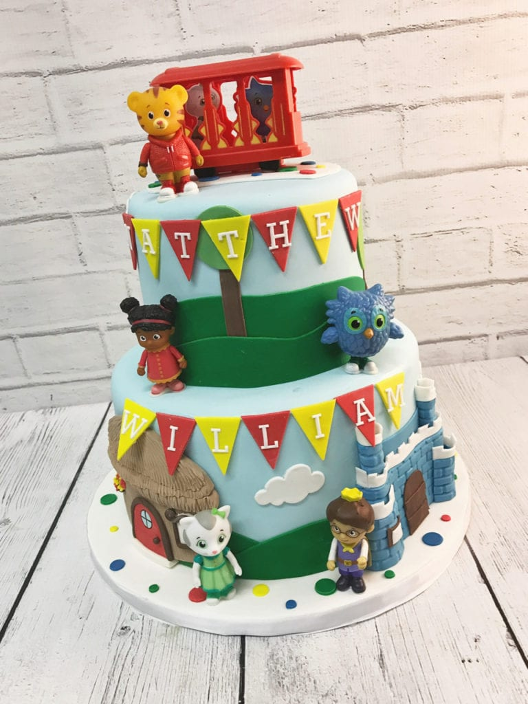 Nashville Sweets Daniel Tiger Birthday Cake