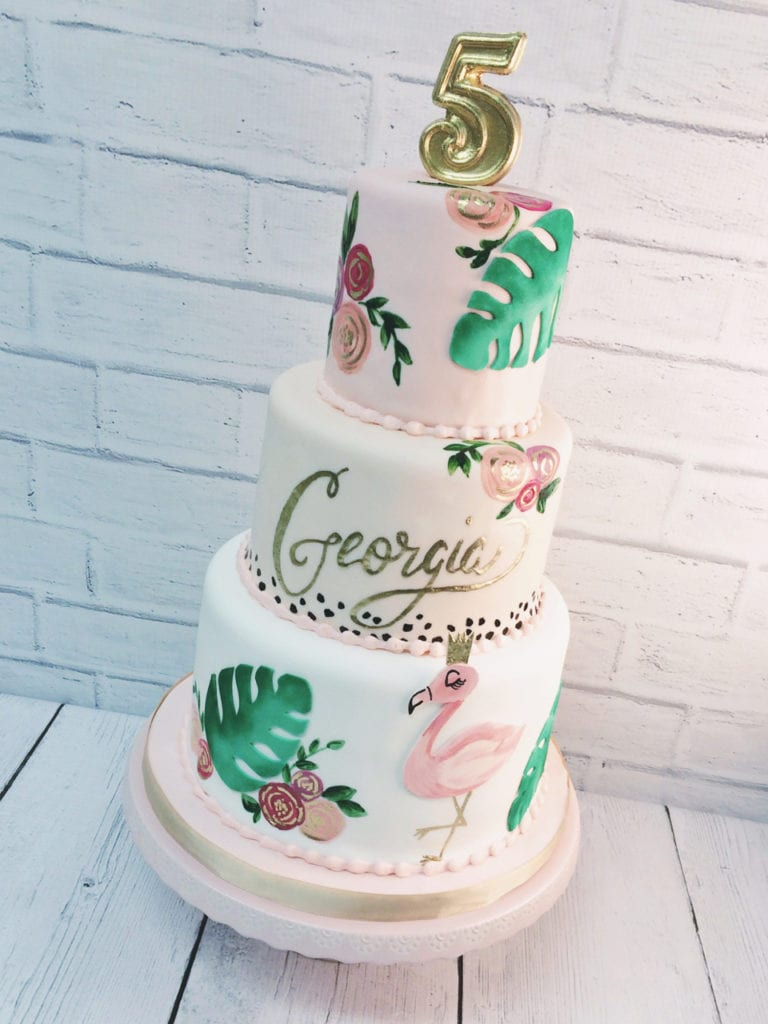 Hand Painted Cakes Gallery