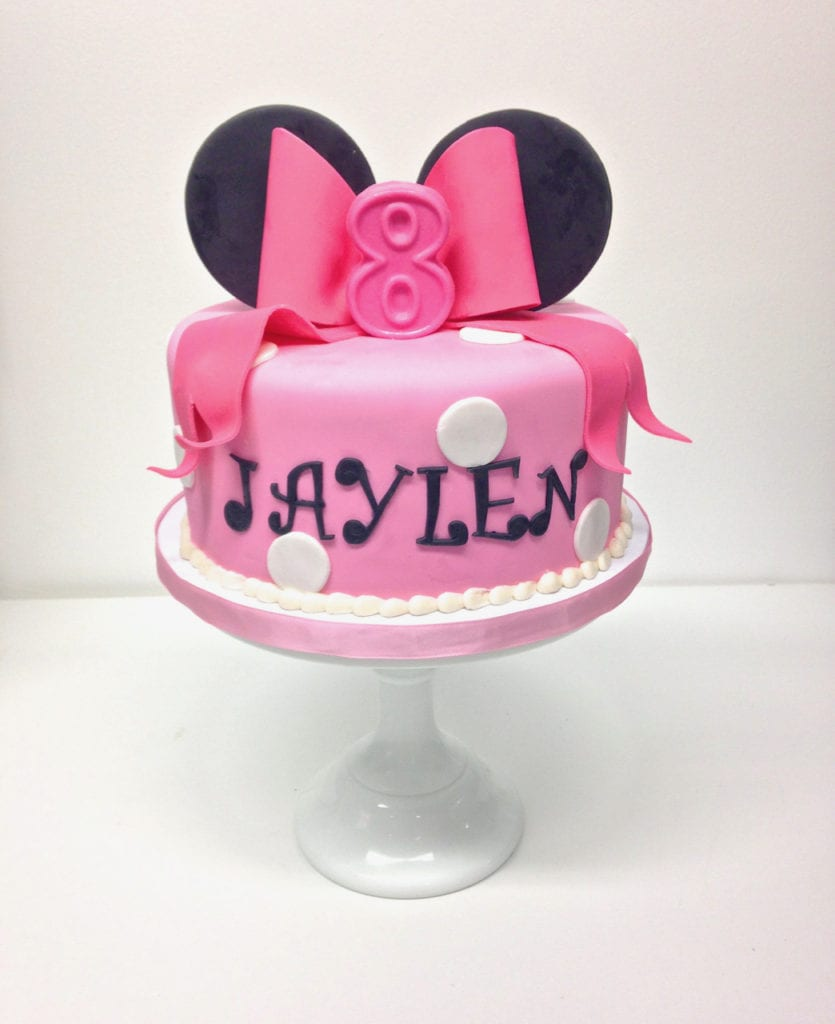 Nashville Sweets Minnie Mouse Birthday Cake