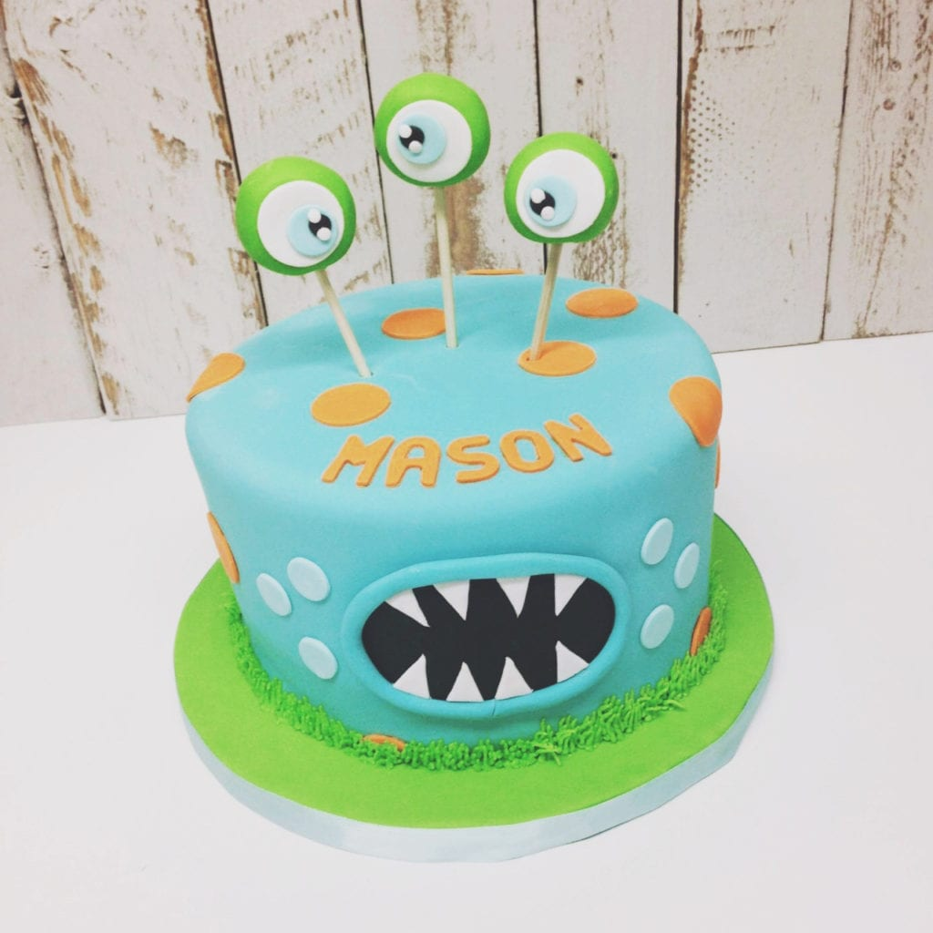 Nashville Sweets Monster Birthday Cake